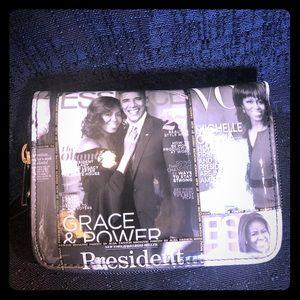 Super cute Michelle Obama small size wallets 💝❤️